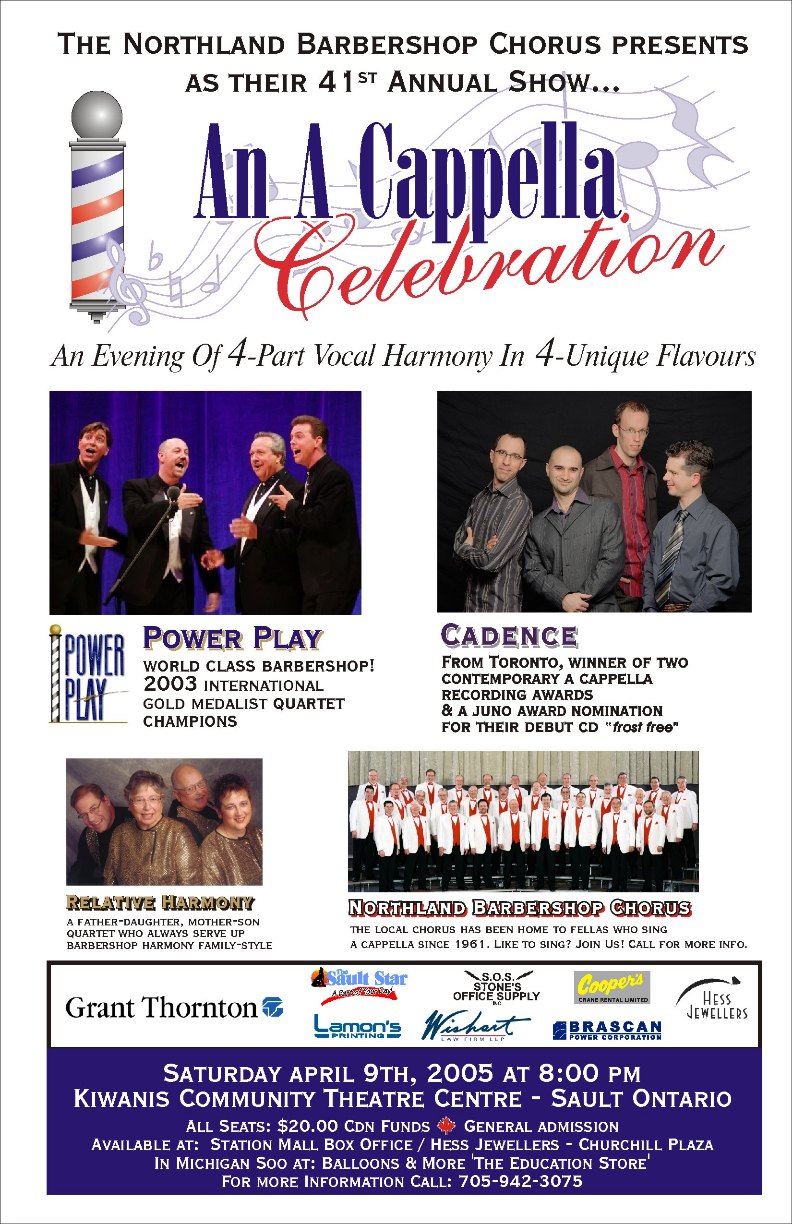 2005 Poster - An A Cappella Celebration.jpg
