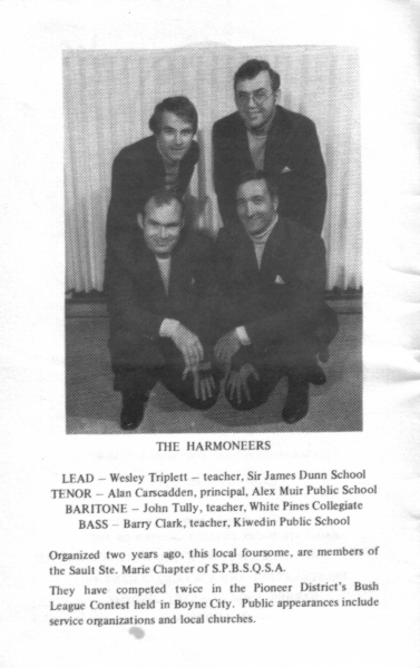 1978 - Harmoneers Program Photo.jpg