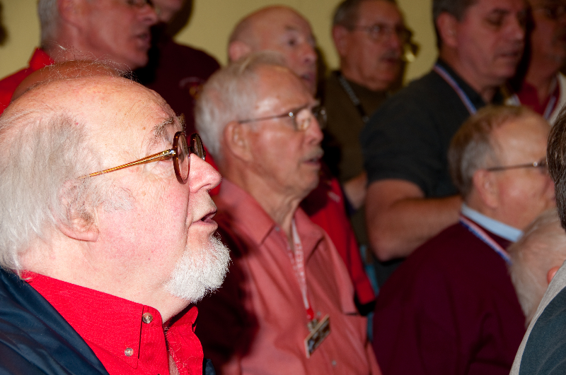 2010 - Joint rehearsal in St. Ignace with Alpena and Gaylord Chapters John Metheany - May 8 2010.jpg