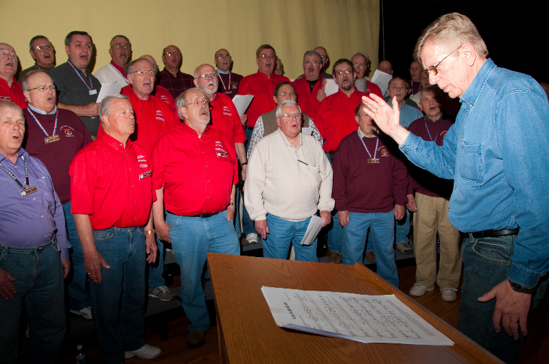 2010 - Joint rehearsal in St. Ignace with Alpena and Gaylord Chapters-2 Ted Johnson directing - May 8 2010.jpg