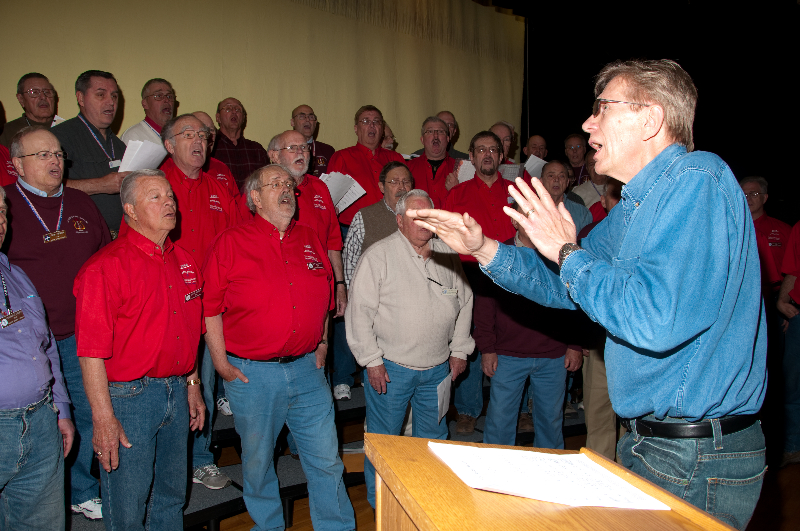 2010 - Joint rehearsal in St. Ignace with Alpena and Gaylord Chapters-3 Ted Johnson directing - May 8 2010.jpg