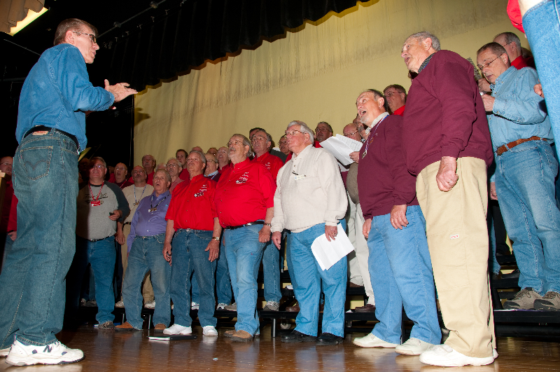 2010 - Joint rehearsal in St. Ignace with Alpena and Gaylord Chapters-5 Ted Johnson directing - May 8 2010.jpg