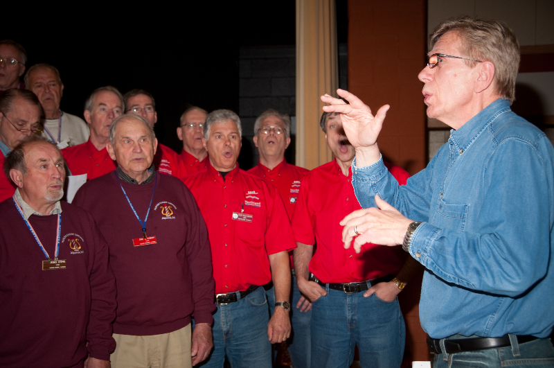 2010 - Joint rehearsal in St. Ignace with Alpena and Gaylord Chapters-8 Ted Johnson directing - May 8 2010.jpg