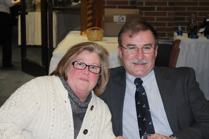2014 - Ladies Night-Dave and Maureen Parker-Feb 8 2014.JPG
